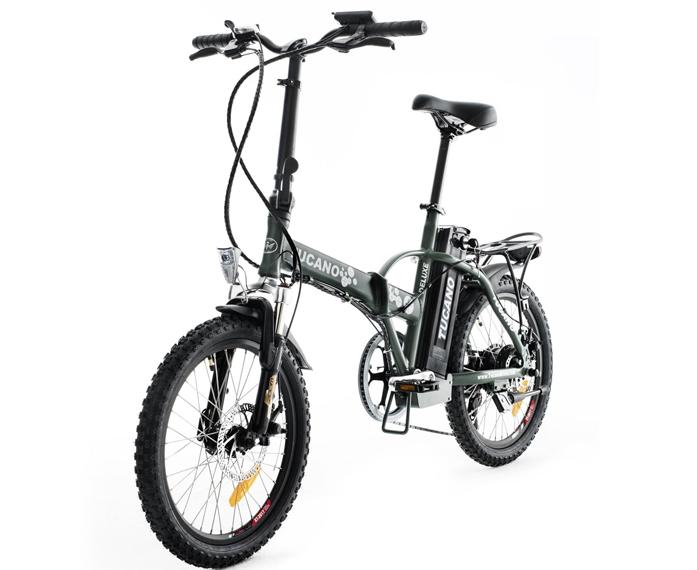 Bicicleta eléctrica Tucano Deluxe