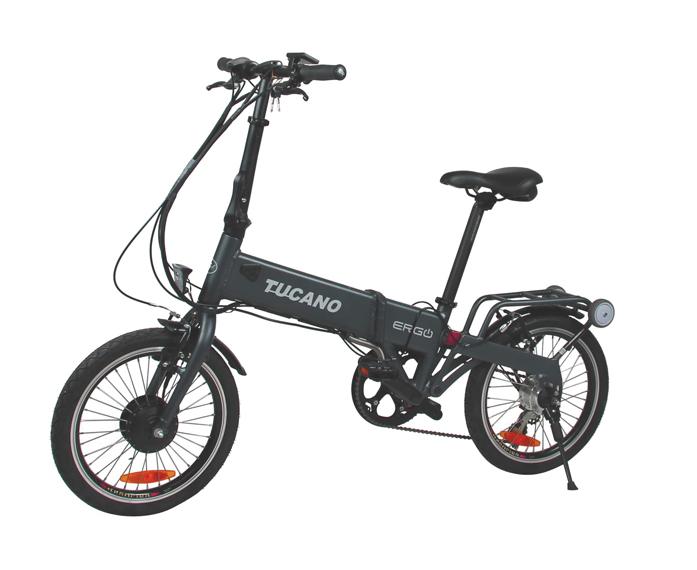 Bicicleta eléctrica plegable Tucano ERGO