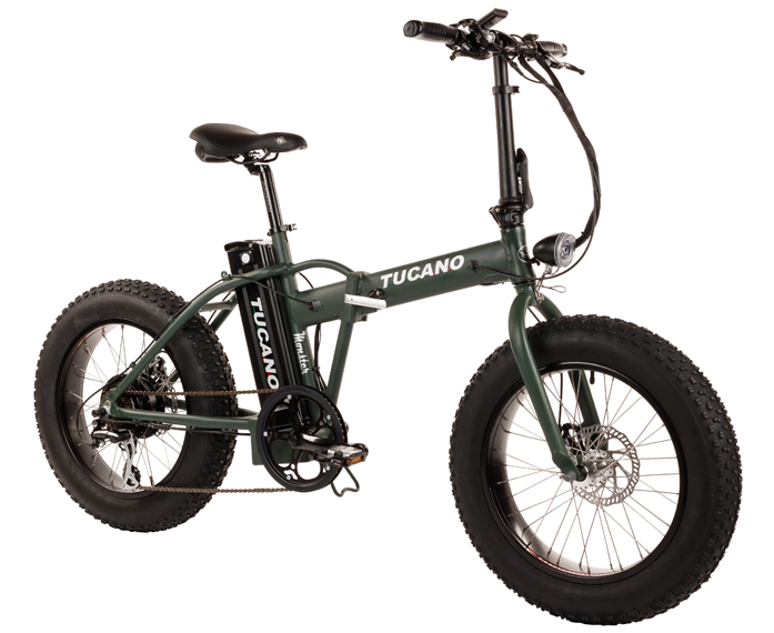 Bicicleta eléctrica Tucano Monster 20 Naked
